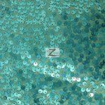 Rain Drop Sequins on Taffeta Fabric Brush Tiffany