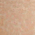 Rain Drop Sequins on Taffeta Fabric Dusty Matte Pink