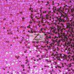 Rain Drop Sequins on Taffeta Fabric Fuchsia