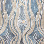 Mystic Eye Lace Fabric By The Yard Navy