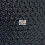 Lattice Vinyl Fabric By The Yard Black