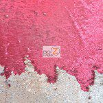 Mermaid Sequins Fabrics By The Yard Burgundy Pale Gold