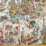Alexander Henry Cotton Skelewags Pirate Skeletons By The Yard