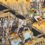Alexander Henry Cotton Skullduggery Zombie Apocalypse By The Yard