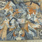 Alexander Henry Heart Of Darkness Cotton Fabric By The Yard