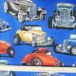 Deuces Vintage Cars Alexander Henry Cotton By Yard