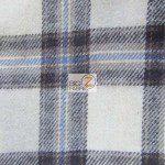 Tartan Plaid Flannel Fabric By The Yard Brown Cream