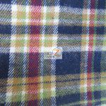 Tartan Plaid Flannel Fabric By The Yard Multi Color