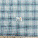 Tartan Plaid Flannel Fabric By The Yard Olive Khaki