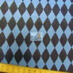Mr Bear Harlequin Michael Miller Cotton Fabric By Yard