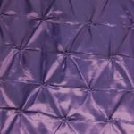Purple Button Style Taffeta Fabric By The Yard