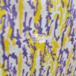 Lakers Camo Print Fleece Fabric By The Yard