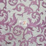 Cocktail Vogue Floral Lace Fabric Purple By The Yard