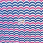 Chevron Fleece Fabric Multi By The Yard