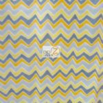 Chevron Fleece Fabric Yellow By The Yard