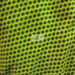 Yellow/Black Polka Dot Fleece Fabric By The Yard